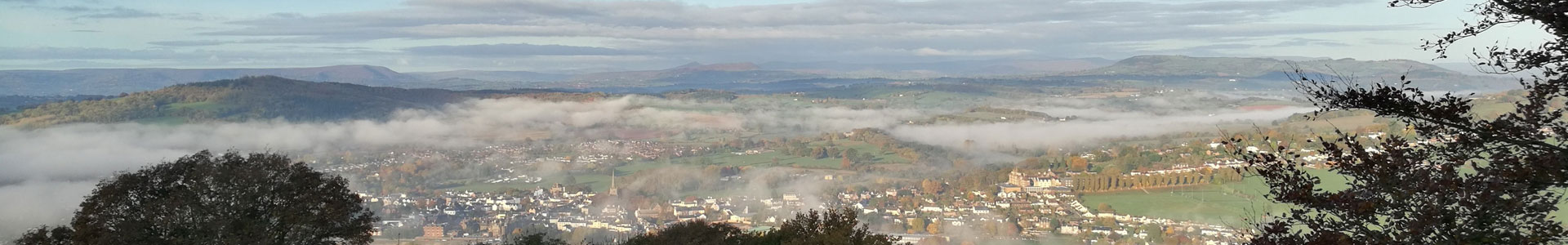 View from Kymin, Monmouth